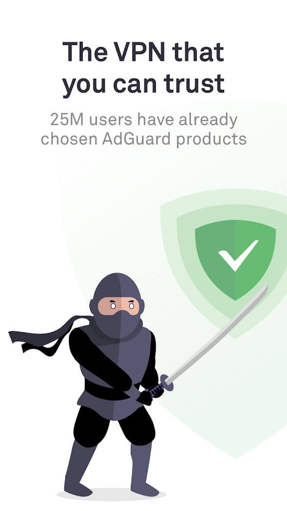 AdGuard VPN — Fast & secure, unlimited protection