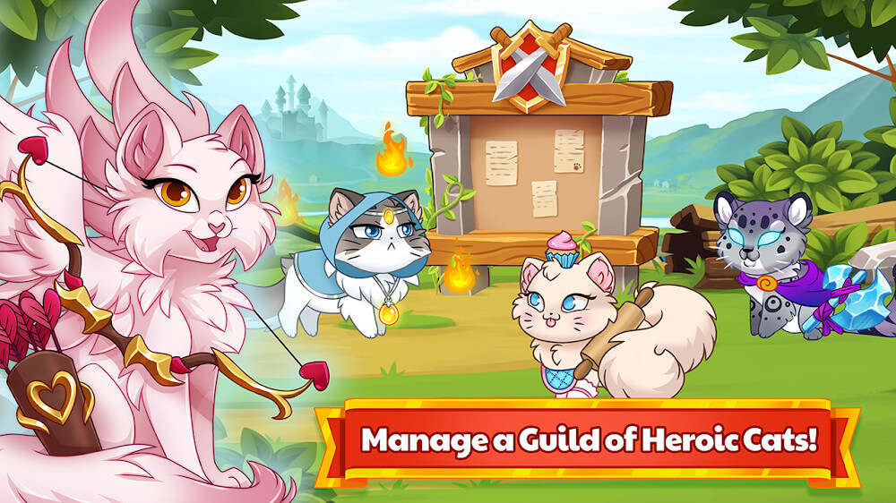 Castle Cats – Idle Hero RPG